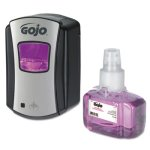 gojo-1312d4-touch-free-ltx-7-antibacterial-foam-soap-dispenser-kit-goj1312d4