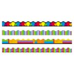 Trend Terrific Trimmers Border, Color Collage Designs, 48 Borders(TEPT92908)