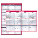 at-a-glance-erasable-v-h-wall-planner-32-x-48-blue-red-2020-aagpm32628