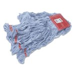 rubbermaid-a153-web-foot-wet-mop-heads-blue-large-6-mops-rcpa153blu