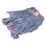 rubbermaid-c113-swinger-loop-wet-mop-heads-blue-large-6-mops-rcpc113blu