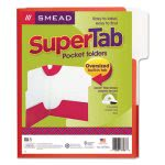 smead-supertab-two-pocket-folders-letter-size-red-5pack-smd87966