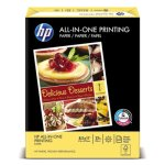 HP All-In-One22 Paper, 97 Bright, 22lb, Letter, White, 500 Sheets (HEW207000)