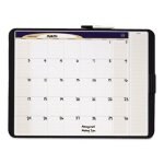 quartet-tack-and-write-monthly-calendar-board-17-x-11-black-qrtct1711