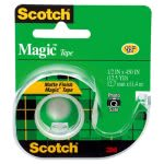 "Scotch Magic Tape w/Refillable Dispenser, 1/2"" x 450"", Clear (MMM104)"