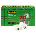 scotch-magic-tape-value-pack-34-x-1000-1-core-clear-mmm810k20