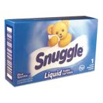 Snuggle Liquid Fabric Softener, Original, 1.5oz Vend-Box,100 Boxes (VEN2979996)