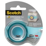 scotch-magic-tape-with-dispenser-34-x-300-turquoise-mmmc214blud