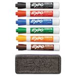 expo-dry-erase-marker-organizer-kit-chisel-tip-assorted-6set-san80556