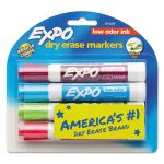 expo-low-odor-dry-erase-marker-chisel-tip-classic-colors-assorted-4set-san81029