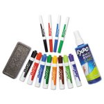expo-dry-erase-markererasercleaner-chiselfine-assorted-12set-san83054
