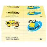 post-it-note-pad-3-x-3-canary-100-sheets-36pack-mmm65436vad90