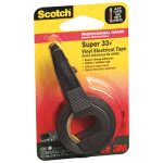 scotch-super-33-vinyl-electrical-tape-wdispenser-12-x-200-roll-black-mmm194na
