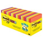 post-it-electric-glow-pads-3x3-assorted-colors-70-sht-24set-mmm65424ssancp
