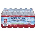 Crystal Geyser Alpine Spring Water, 16.9-oz, 24 Bottles (CGW24514CT)