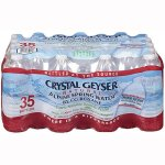 Crystal Geyser Alpine Spring Water, 16.9-oz, 35 Bottles (CGW35001CT)