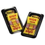 post-it-flags-arrow-message-1-flags-sign-here-yellow-2-50-flag-dispenserspack-mmm680sh2