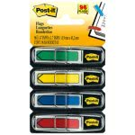 "Post-it 1/2"" Arrow Flags, Blue/Green /Red/Yellow, 96 Flags (MMM684ARR3)"