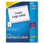 avery-self-adhesive-full-sheet-shipping-labels-for-copiers-8-12-x-11-white-100box-ave5353