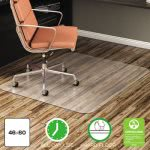 Deflect-o EconoMat Hard Floor Chair Mat, 46w x 60l, Clear (DEFCM21442F)
