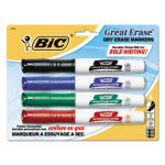 bic-great-erase-grip-dry-erase-markers-chisel-assorted-4-set-bicgdemp41asst