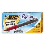 bic-grip-roller-ball-stick-pen-red-ink-micro-fine-dozen-bicgrem11rd