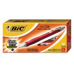 bic-velocity-ballpoint-retractable-pen-red-ink-medium-dozen-bicvlg11rd