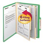 smead-top-tab-folders-two-dividers-six-section-green-10-per-box-smd14002