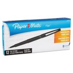 paper-mate-flair-porous-point-pen-black-ink-medium-12-pens-pap8430152
