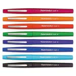 paper-mate-point-guard-flair-porous-point-stick-pen-assorted-ink-medium-8-per-set-pap89061