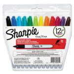 sharpie-permanent-markers-fine-point-assorted-12set-san30072