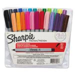 Sharpie 75847 Ultra Fine Permanent Markers, Assorted, 24 Markers (SAN75847)