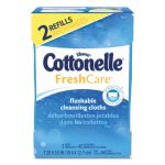Kleenex Cottonelle Fresh Care Flushable Cleansing Cloths, 84 Cloths (KCC35970)