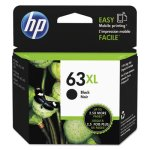 HP 63XL, (F6U64AN) High Yield Black Original Ink Cartridge (HEWF6U64AN)