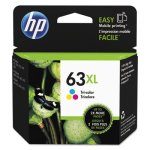 HP 63XL, (F6U63AN) High Yield Tri-Color Original Ink Cartridge (HEWF6U63AN)