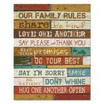 dax-motivational-poster-16-x-20-our-family-rules-dark-walnut-daxn15m2258t
