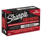 Sharpie 1927432 Extreme Fine Point Marker, Black, 12 Markers (SAN1927432)
