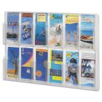 safco-reveal-clear-literature-displays-12-compartments-clear-saf5604cl