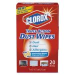 clorox-31313-triple-action-dust-wipes-10-boxes-clo31313ct