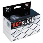 read-right-keykleen-keyboard-cleaner-swabs-24-box-rearr1243
