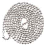 advantus-id-badge-holder-chain-36-long-nickel-plated-100box-avt75417