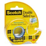 "Scotch Double-Sided Removable Office Tape and Dispenser, 3/4"" x 400"" (MMM667)"