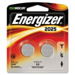 Energizer Watch/Electronic/Specialty Battery, 2025, 3V, 2/Pack (EVE2025BP2)
