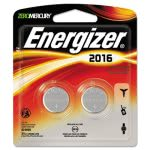 Energizer Watch/Electronic/Specialty Battery, 2016, 3V, 2/Pack (EVE2016BP2)