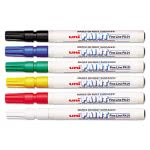 sanford-uni-paint-markers-fine-point-assorted-6-set-san63720
