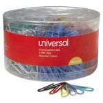 universal-vinyl-coated-wire-paper-clips-assorted-colors-1000-clips-unv21000