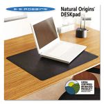es-robbins-natural-origins-desk-pad-19-x-12-matte-black-esr120792