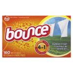Bounce Fabric Softener Sheets, Outdoor Fresh Scent, 6 Boxes (PGC 80168)