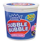 Dubble Bubble Bubble Gum, Original Pink, Nut/Gluten Free, 300/Tub (TOO16403)