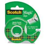 "Scotch Magic Tape w/Refillable Dispenser, 1/2"" x 800"", Clear (MMM119)"